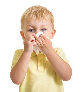 У ребенка язвочки в носу