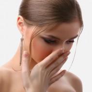 Герпес на носу фото симптомы и лечение