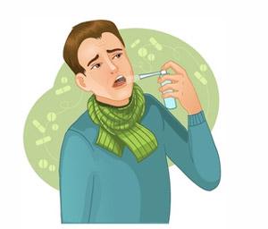 Хлорофиллипт полоскание горла